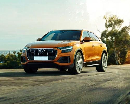 Audi Q8 Front Left Side