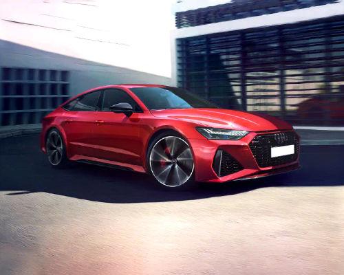 Audi RS7 Front Left Side