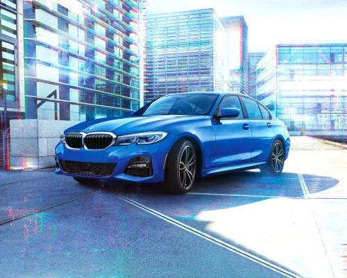 BMW 3 Series Front Left Side