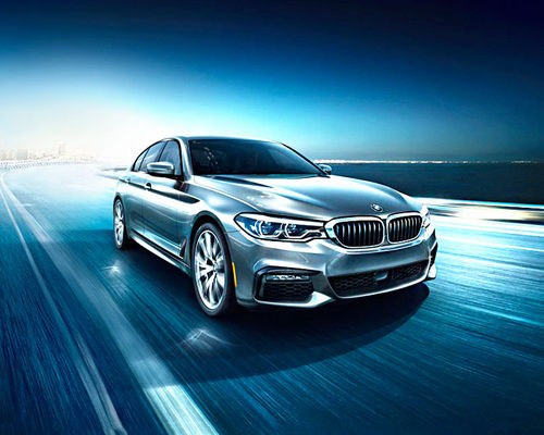 BMW 5 Series Front Left Side