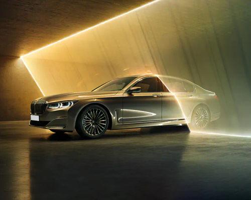 BMW 7 Series Front Left Side