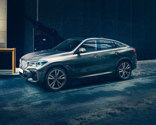 BMW X6 Front Left Side