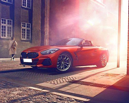 BMW Z4 Front Left Side