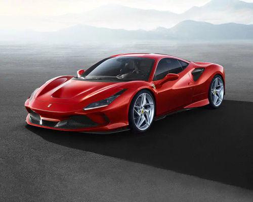 Ferrari F8 Tributo Front Left Side