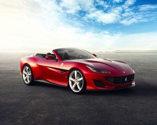 Ferrari Portofino Front Left Side