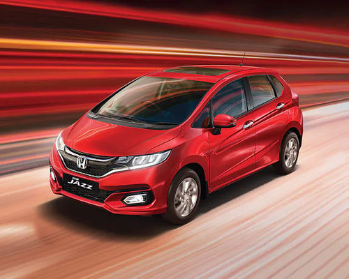 Honda Jazz Front Left Side