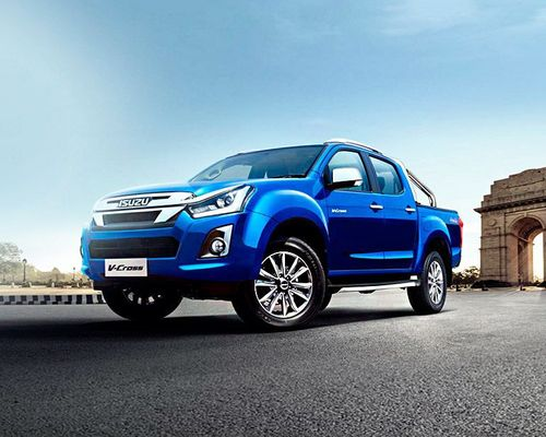 Isuzu D-Max V-Cross Front Left Side