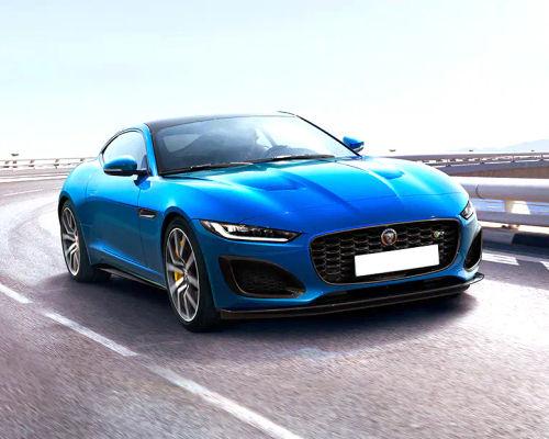 Jaguar F-TYPE Front Left Side