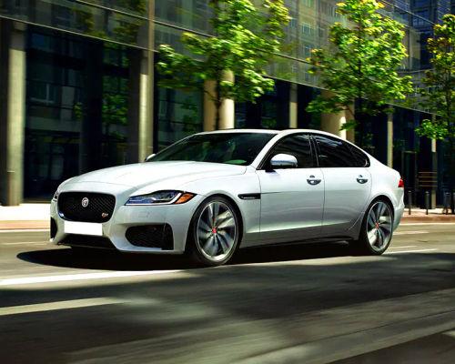 Jaguar XF Front Left Side