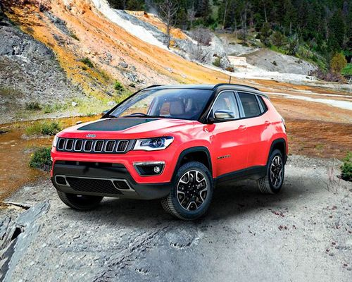 Jeep Compass Trailhawk Front Left Side