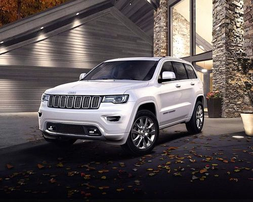 Jeep Grand Cherokee Front Left Side