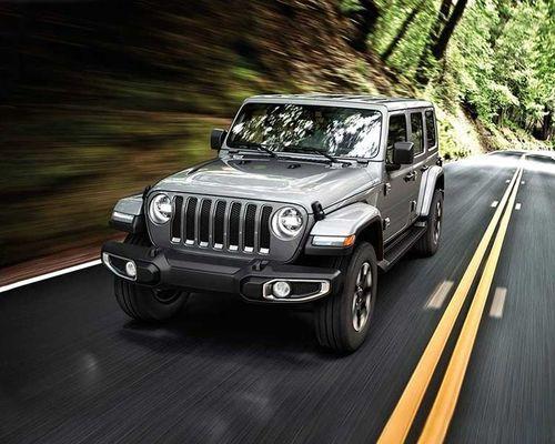 Jeep Wrangler Front Left Side