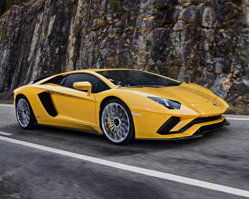 Lamborghini Aventador Front Left Side
