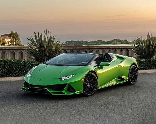 Lamborghini Huracan EVO Front Left Side