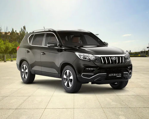 Mahindra Alturas G4 Front Left Side