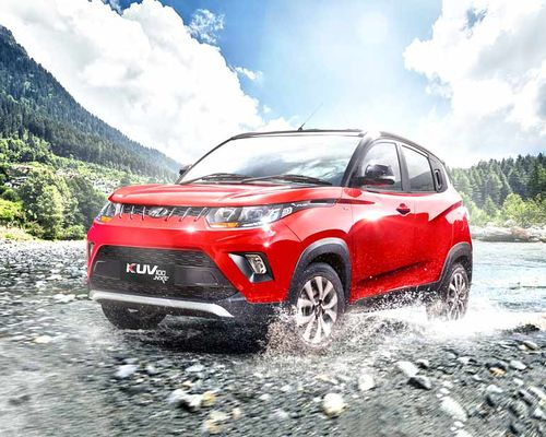 Mahindra KUV100 NXT Front Left Side