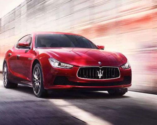 Maserati Ghibli Front Left Side