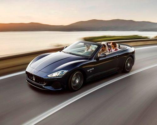 Maserati GranCabrio Front Left Side