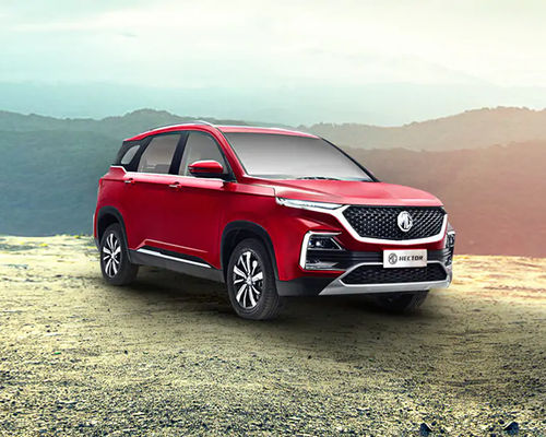 MG Hector Front Left Side