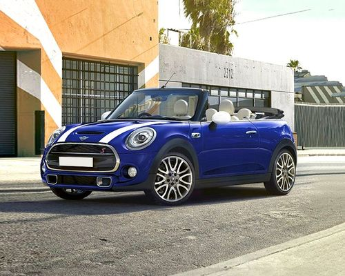 Mini Cooper Convertible Front Left Side