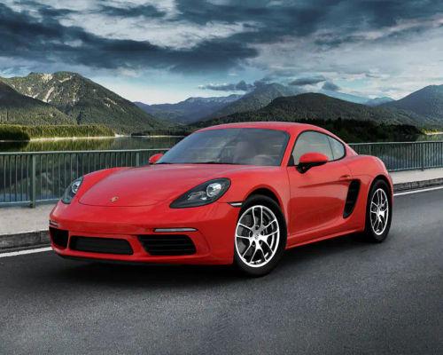 Porsche 718 Front Left Side