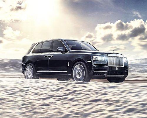 Rolls-Royce Cullinan Front Left Side