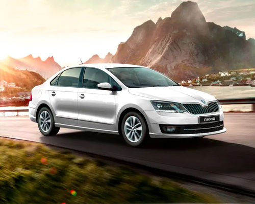 New Skoda Rapid Front Left Side