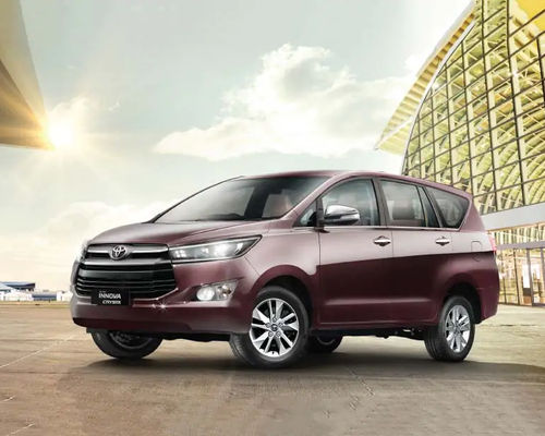 Toyota Innova Crysta Front Left Side