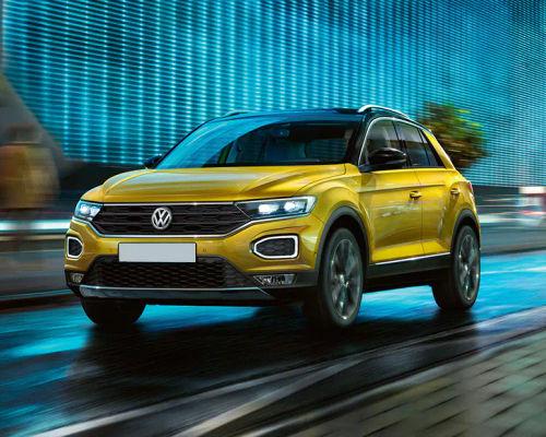 Volkswagen T-Roc Front Left Side